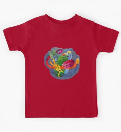 abstract embroidery Kids Clothes