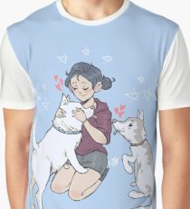 kirstin maldonado - olaf and pascal Graphic T-Shirt