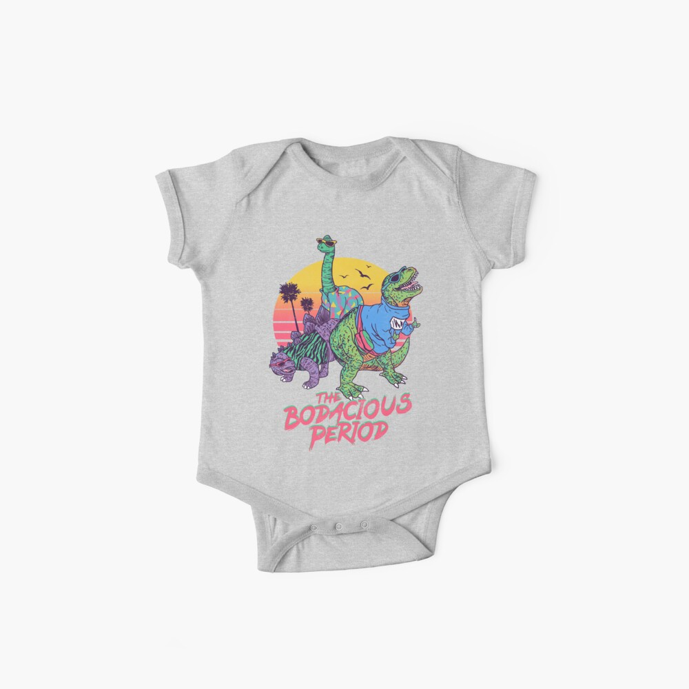 The Bodacious Period Baby One-Pieces