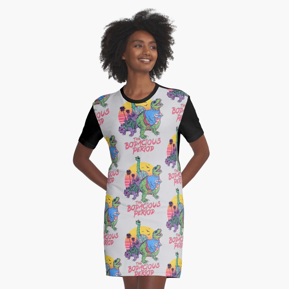 Die Bodacious-Periode T-Shirt Kleid