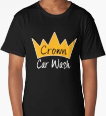 Silicon Valley Crown Car Wash T-shirt Long T-Shirt