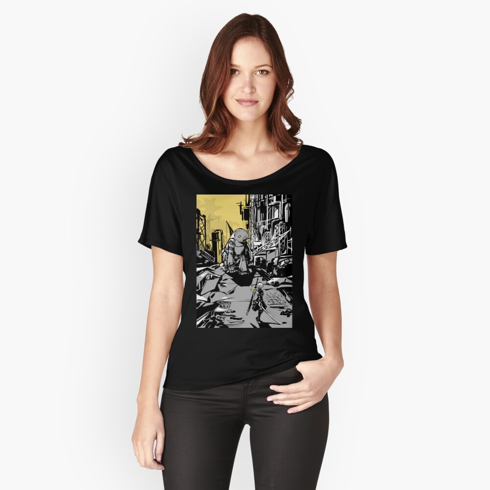 NieR: Automata Women's Relaxed Fit T-Shirt Front