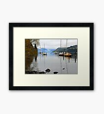 Queenstown. South Island, New Zealand. Framed Print