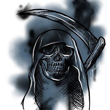 Reaper splatter by Bloodywings