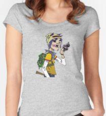 Gorillaz - 2-D Women's Fitted Scoop T-Shirt
