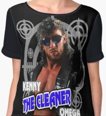 kenny the cleaner omega Chiffon Top