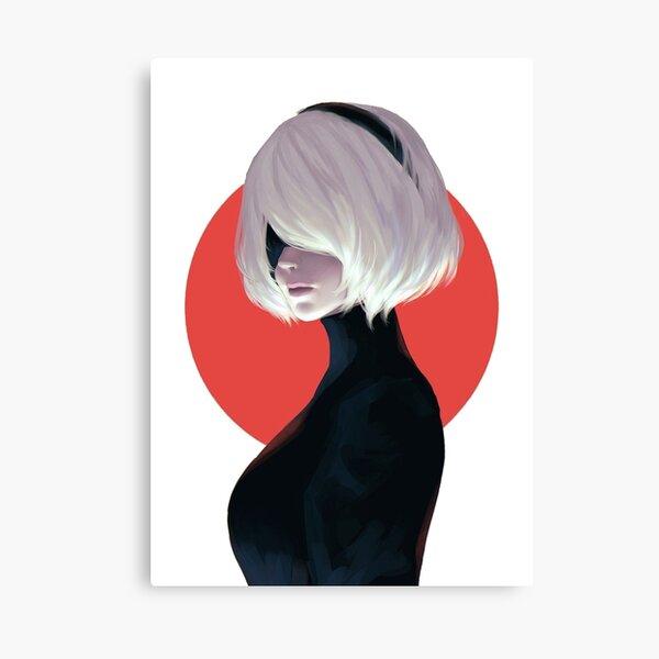 Nier automata 2B Canvas Print