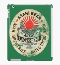 japanese beer iPad Case/Skin