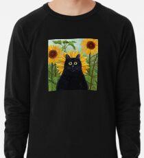 Dan de Lion mit Sonnenblumen Leichter Pullover