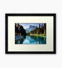 Emerald Sunshine Framed Print