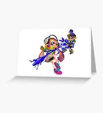 Splatoon Greeting Card