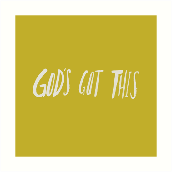 God's Got This x Mustard by theanointedhome