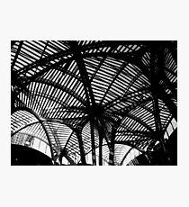 geometric ceiling Photographic Print