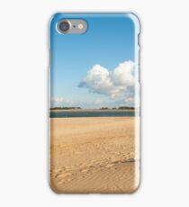Wells-next-the-Sea beach. iPhone Case/Skin