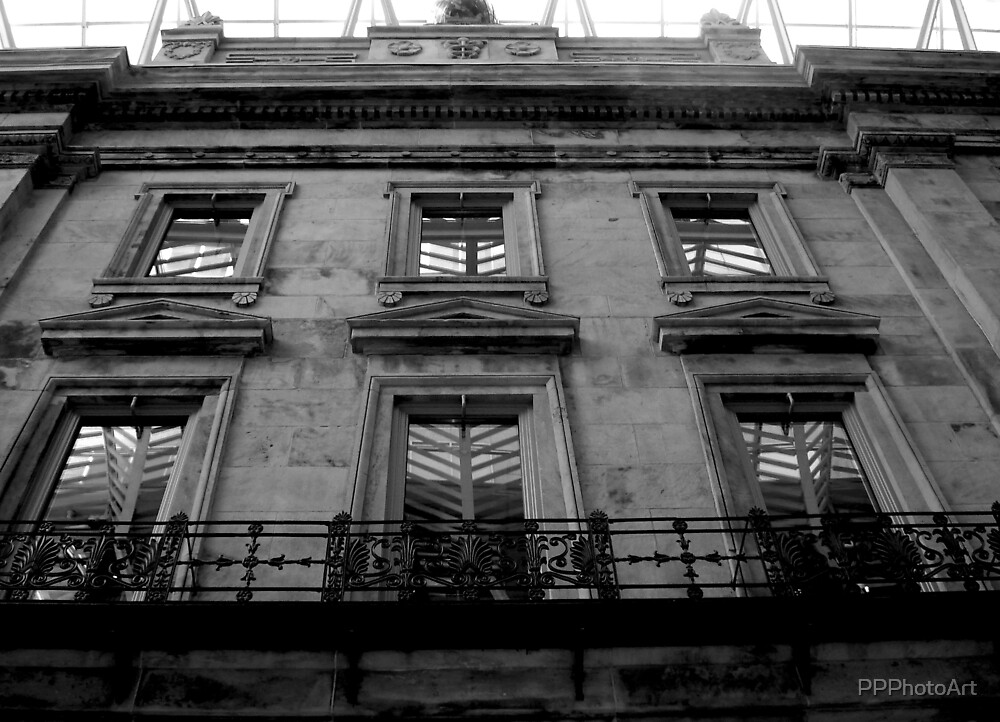 part of heritage building by PPPhotoArt