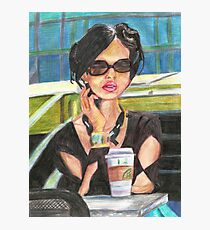 Coffee in the Sunshine Photographic Print