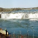 Cohoes Falls by John Schneider