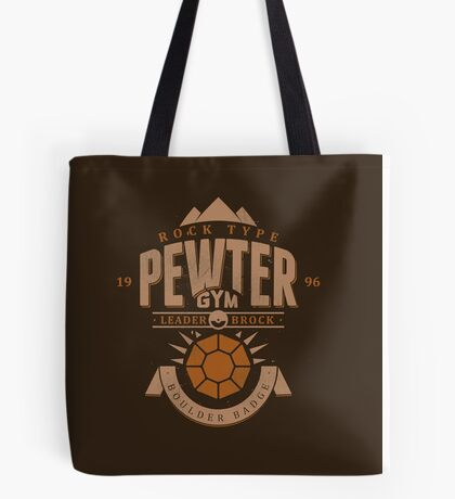 Pewter Gym Tote Bag