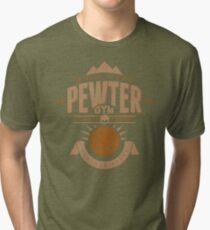 Pewter Gym Tri-blend T-Shirt