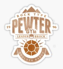 Pewter Gym Sticker