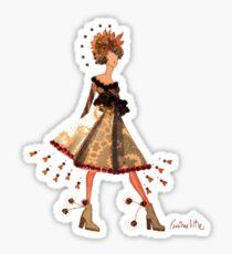 Stargazer Girl - Flower Fairy Sticker