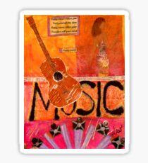 MUSIC Makes Me Wanna Dance Sticker