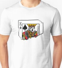 Ripped king card Unisex T-Shirt