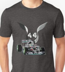 44 F1 Lewis Hamilton on his car T-Shirt