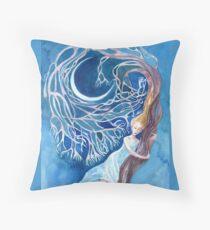 Tree spirit. Throw Pillow