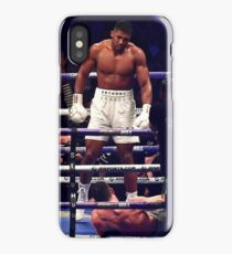 Anthony Joshua Stands Victorious iPhone Case/Skin