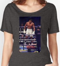 Anthony Joshua Stands Victorious Women's Relaxed Fit T-Shirt