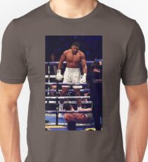 Anthony Joshua Stands Victorious Unisex T-Shirt