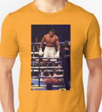 Anthony Joshua Stands Victorious T-Shirt