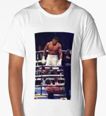 Anthony Joshua Stands Victorious Long T-Shirt