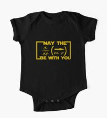 May the Equation be with you Baby Body Kurzarm
