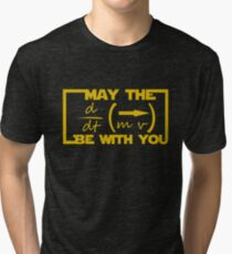 May the Equation be with you Tri-blend T-Shirt