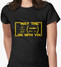 May the Equation be with you Women's Fitted T-Shirt