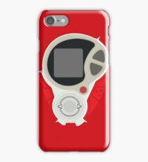 D3 phone | Red version iPhone Case/Skin