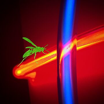 Neon Wasp Green by ATJones