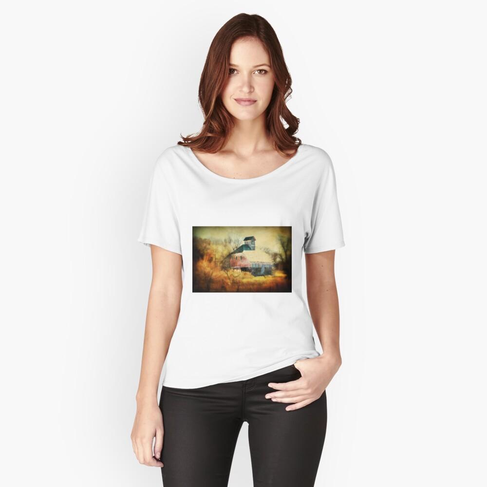 Autumn Nebraska Barn Women's Relaxed Fit T-Shirt Front