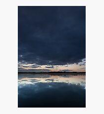 reflection, loch of skene Photographic Print