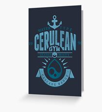 Cerulean Gym Greeting Card