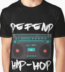 defend hip-hop rap boombox design Graphic T-Shirt