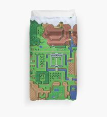 Hyrule Map: Zelda Link to the Past Duvet Cover
