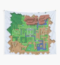 Hyrule Map: Zelda Link to the Past Wall Tapestry