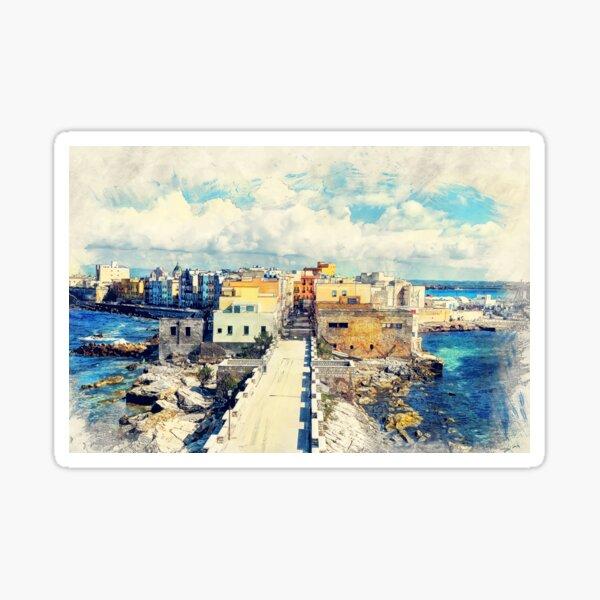 Trapani art 18 Sicily Sticker