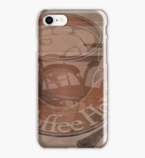 Coffee Cup and Saucer Design iPhone Case/Skin