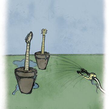 Growing Guitars by cklosowski