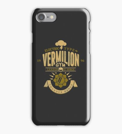 Vermilion Gym iPhone Case/Skin