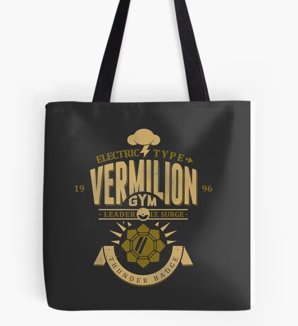 Vermilion Gym Tote Bag